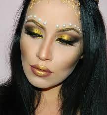 Image result for gold makeup