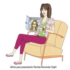 Clight . Campaña Grafica Ilustration by Robertita Superstar www.robertita.com.ar