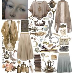 A fashion look from November 2011 featuring long line jacket, transparent jacket and layered skirt. Browse and shop related looks. Witch Fashion, Fashion Beauty, Quirky Fashion, Vintage Fashion, Gypsy, Witchy Outfit, Estilo Rock, Mori Girl, Zoella