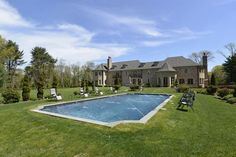 FRENCH NORMANDY ESTATE IN NEW YORK  |  Muttontown, NY  |  Luxury Portfolio International Member - Laffey Fine Homes