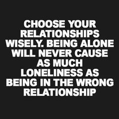 relationships n loneliness