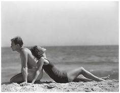 Douglas Fairbanks Jr. and Joan Crawford, photographed by Edward J. Steichen in 1931 - same series as other 2 photos from the same day