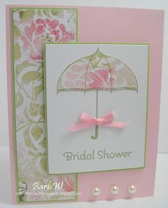 When I saw the Scattered Showers stamp set on Nicole's blog during sneak peek week, I knew I had to have it. I started an umbrella collectio...