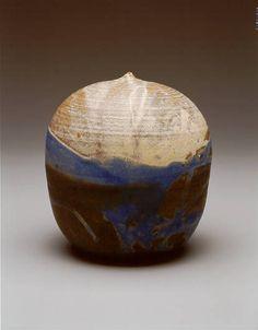 Takaezu, Toshiko - wonderful glazing. Our ceramics studio glaze - Toshiko white is her original recipe