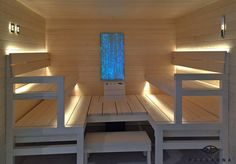 Sauna Linear Led includes a 1 meter linear, 2 Leds and a power supply