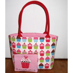 Cupcake bag made from hand towels