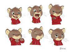 Borja Montoro Character Design: Zootopia II