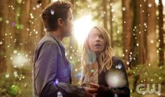 """THE SECRET CIRCLE  """"Pilot""""  Pictured (L-R): Thomas Dekker as Adam and Britt Robertson as Cassie.  © 2011 The CW Network, LLC. All rights reserved."""