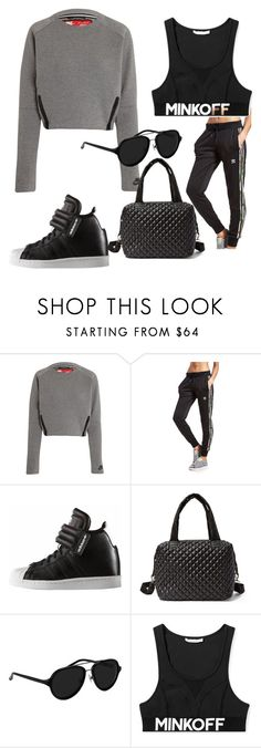 """""""Untitled #204"""" by styledbymzj on Polyvore featuring NIKE, adidas Originals, Steve Madden, 3.1 Phillip Lim, Rebecca Minkoff, women's clothing, women's fashion, women, female and woman"""