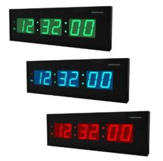 Digital LED Clock, Large New Muscle Driver Gym Training Timer With Seconds