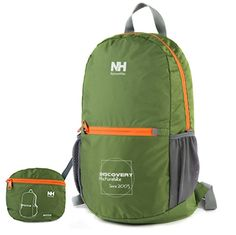 NatureHike Outdoor Camping Hiking Backpack Folding Backpack Knapsack Mountaineering Double Shoulders Bag(Green)