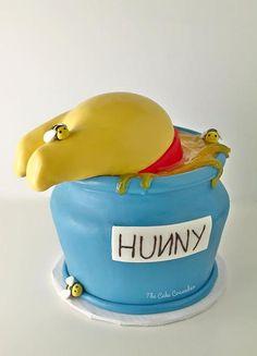 Winnie the Pooh Honey Pot Cake  - The Cake Crusader, Custom Cakes in Western MA