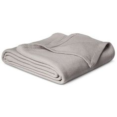 Solid Cotton Blanket - White (Full/Queen) Threshold™ : Target