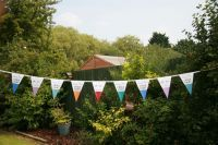 Colourful run of Annie Sloan™ bunting for one of the UK stockists.