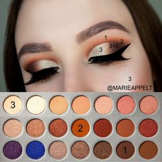 Jaclyn Hill x Morphe Palette Makeup Tutorial #jaclynhill #jaclynhillpaltte #morphebrushes #morphe #tutorial #makeupartist #makeup #stepbystep