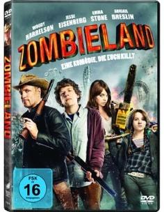 Zombieland  2009 USA      Jetzt bei Amazon Kaufen Jetzt als Blu-ray oder DVD bei Amazon.de bestellen  IMDB Rating 7,8 (200.265)  Darsteller: Jesse Eisenberg, Woody Harrelson, Emma Stone, Abigail Breslin, Amber Heard,  Genre: Comedy, Horror,  FSK: 16