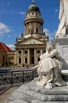 Gendarmenmarkt - One of the most beautiful squares in Berlin, Germany