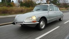 Citroen DS. World's most beautiful car.