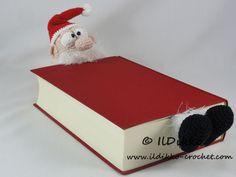 Santa Claus Bookmark – Crochet Pattern |