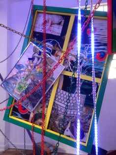 Parker Ito Artist Exhibition Paintings Sculptures Lights Art Installation Chateau Shatto Los Angeles