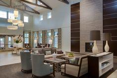 Senior Living  Designed by Faulkner Design Group  #lobby #entrance #luxury #faulknerdesigngroup #interiordesign #seniorliving