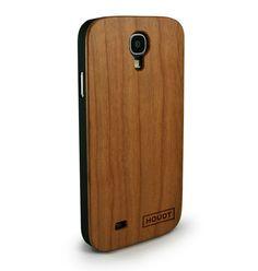 Samsung S4 Houdt Cherry Wood Case  #SamsungS4  #SamsungCovers #SamsungWoodenPhoneCovers Samsung, Real Wood, Bamboo, Make It Yourself, Design