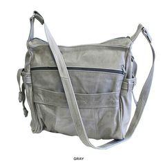 Genuine Cowhide Leather Handbag - Assorted Colors at 82% Savings off Retail!