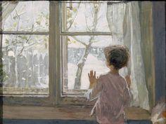 Sergei Andreevich TOUTOUNOV (1925-1998), First Snow  http://francophonia.net/