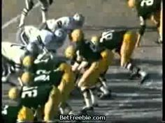 Ice Bowl of Dec. 31, 1967 - Green Bay Packers battle the Dallas Cowboys for a trip to the Super Bowl - temps drop as low as -15 deg F in Green Bay