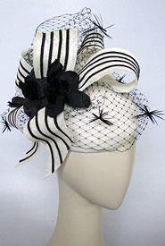 """Fashion hat """"Light Finger"""", designed by Melbourne milliner Louise Macdonald"""