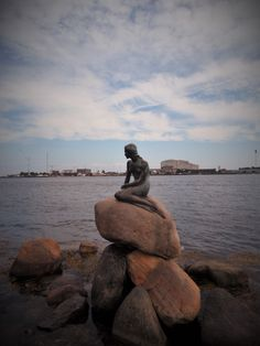#copenhagen #littlemermaid #reallylittle