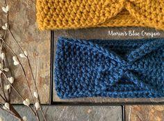 Simple Crochet Ear Warmer Free Pattern for Beginners – Maria's Blue Crayon Simple Crochet Ear Warmer Free Pattern for Beginners – Maria's Blue Crayon,Crochet These quick and easy crochet ear warmers are the best! Crochet For Beginners Headband, Easy Crochet Headbands, Crochet Bows, Crochet Scarfs, Crochet Buttons, Crochet Shirt, Crochet Cardigan, Crochet Gifts, Crochet Ear Warmer Pattern