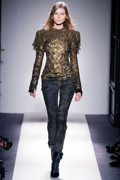Balmain Spring 2010 catwalk pictures from PFW