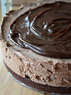 Are you a fan of chocolate? Of Cheesecake? Then this No Bake, Hot Fudge Brownie Cheesecake is for you!