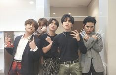 Korean Entertainment Companies, Korean Men Hairstyle, Happy Pills, Cartoon Art, Boy Groups, My Love, Boys, Monthsary, Tin