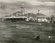 Railway Station - Albury, ca. Dec 1881