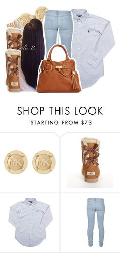 """12/6/15"" by xtaymaxlovesxmisfitx ❤ liked on Polyvore featuring Rolex, Michael Kors, UGG Australia, Ralph Lauren, Marc by Marc Jacobs and Steve Madden"
