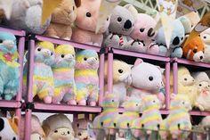 Hyper Japan festival 2016 Kensington Olympia. Kawaii cute stuffed plushes…