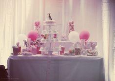 Candy bar. My wedding .