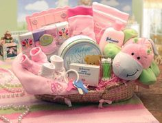 basket gift ideas for a baby shower