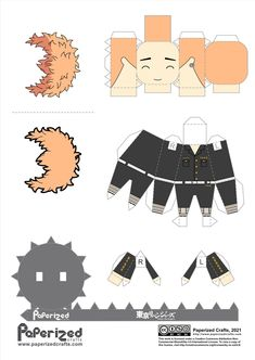 Naruto Shippuden Characters, Anime Characters, Anime Chibi, Kawaii Anime, Otaku Anime, Anime Art, Haikyuu Akaashi, Paper Doll Template, Instruções Origami