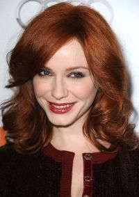 Hollywood's Hottest Reds: Christina Hendricks.