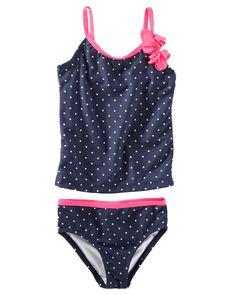 Toddler Girl OshKosh Rosette Swimsuit   OshKosh.com