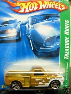 2007 Hot Wheels Custom '69 Chevy Treasure Hunt by Mattel. $8.00. 2007 Hot Wheels Custom '69 Chevy Treasure Hunt diecast car. Car is #10 of 12 Treasure Hunts & #130 of 180 models released in 2007 by Hot Wheels.