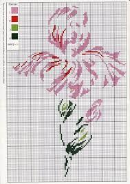 Risultati immagini per punto croce gli iris
