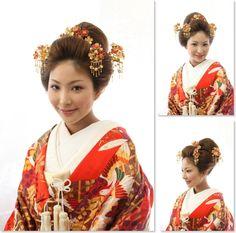 ├ 新日本髪の和装花嫁スタイル
