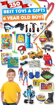 Best Gifts And Toys For 6 Year Old Boys 2018