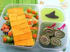 Wizard of Oz bento school lunch. Follow the Yellow Brick Road!