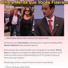 Olha a Merda que Vocês Fizeram ➤ http://blogs.oglobo.globo.com/lauro-jardim/post/relacoes-cortadas-entre-o-casal-santana-e-odebrecht.html ②⓪①⑥ ⓪③ ①③ #BrazilCorruption