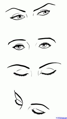 How To Draw A Closed Eye Artwork And Photography Pinterest Art